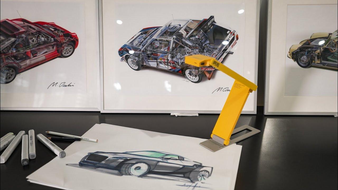 IPEVO DO-CAM for Creative Professionals: Industrial Design
