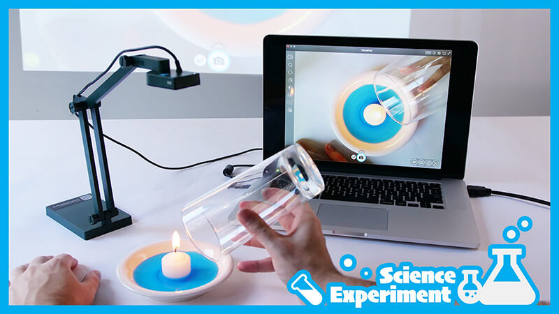 Recording and sharing of science experiments made easy by IPEVO V4K doc cam