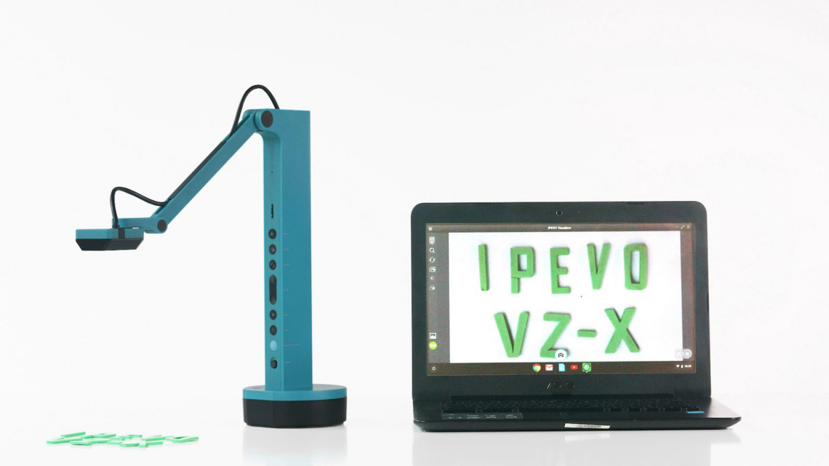 You can now use IPEVO VZ-X document camera wirelessly with your Chromebook!