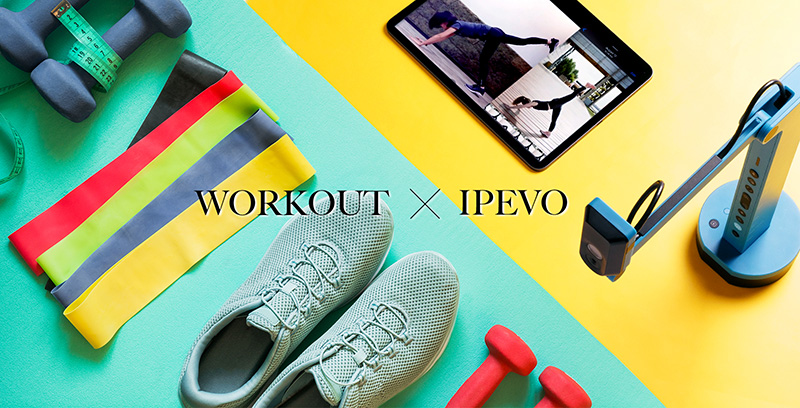 Improve your workout routine with IPEVO!