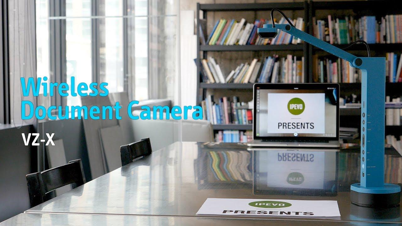 VZ-X Wireless, HDMI & USB Visualiser