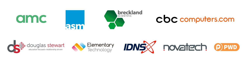 amc, asm, breckland, cbc computers.com, Elementary Technology, IDNS, novatech, PWD