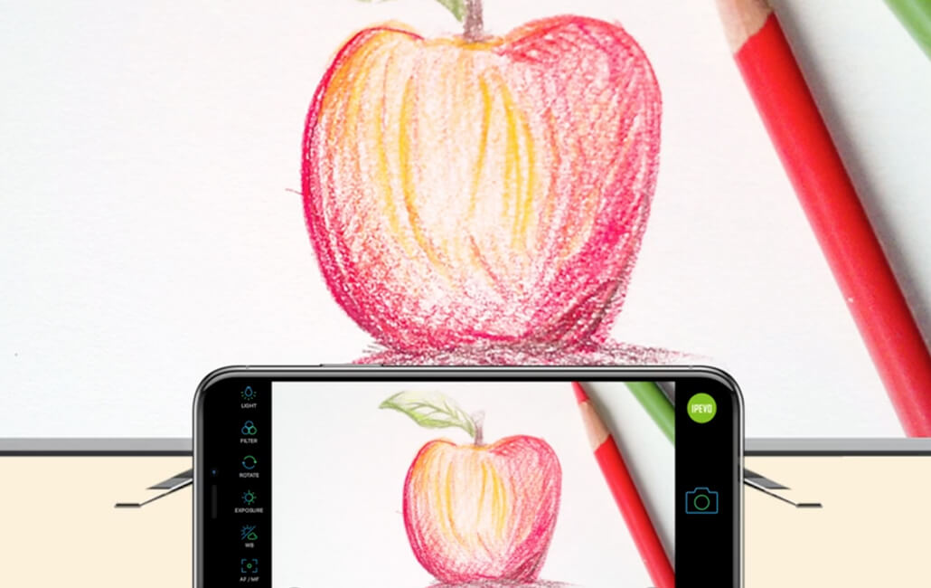 Turn your smartphone into a document camera with iDocCam