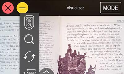 Visualizer's Large Icon Mode