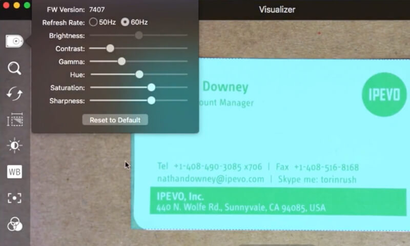 Scan documents with Visualizer