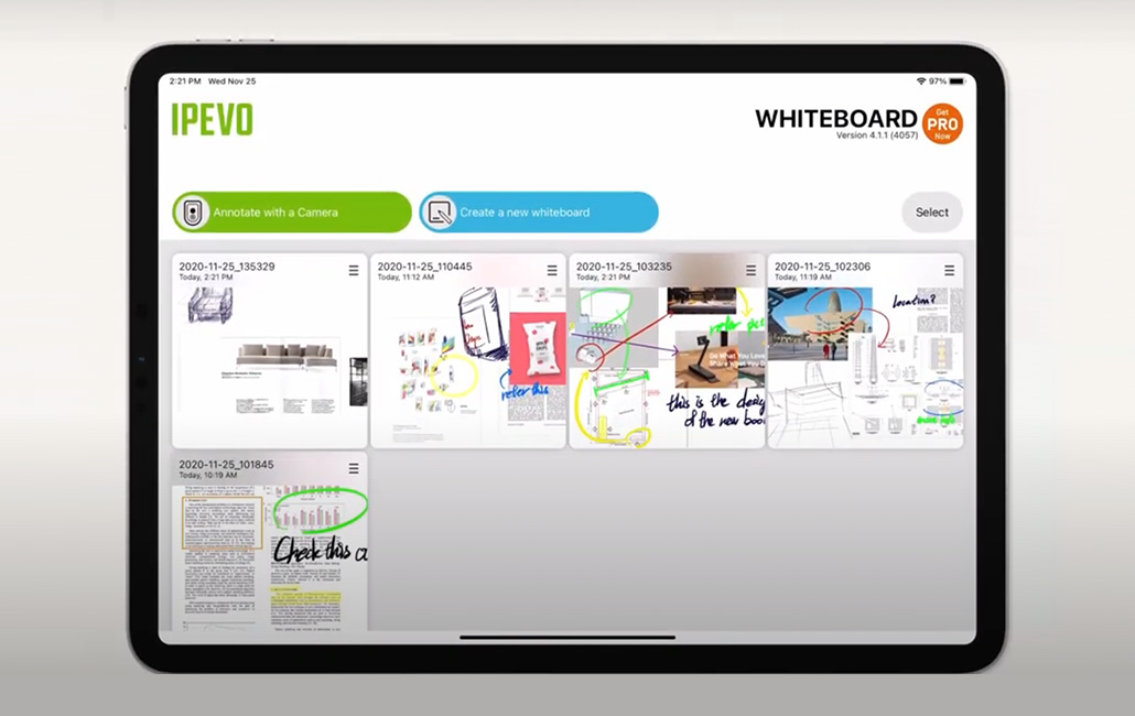 New WHITEBOARD for iPad