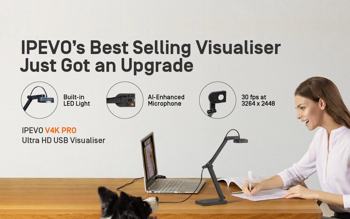 IPEVO's Best Selling Visualiser Just Got an Upgrade